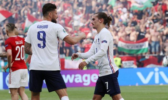 Equipe de France : Antoine Griezmann salue le rôle d'Olivier Giroud