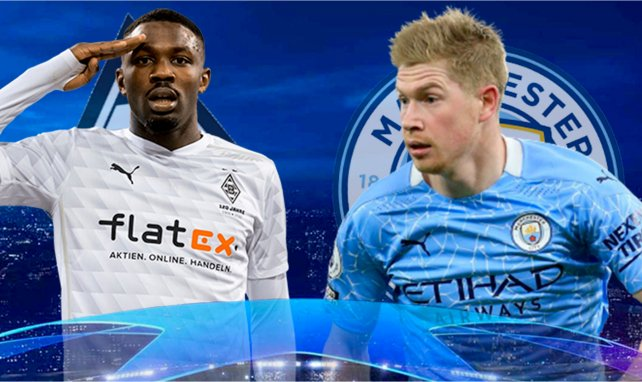 Mönchengladbach - Manchester City : les compositions probables