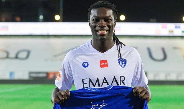 Al Hilal : Bafé Gomis atteint les 100 buts !