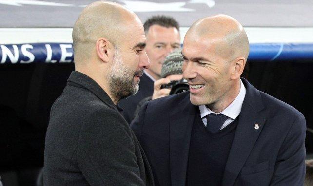 Vidéo : Zinedine Zidane et Pep Guardiola en pleine conversation