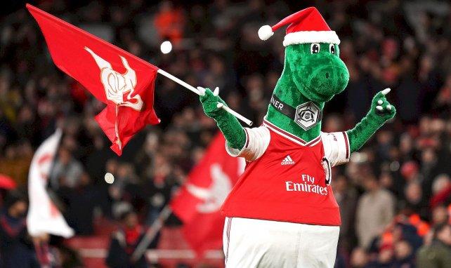 Gunnersaurus, la mascotte d'Arsenal