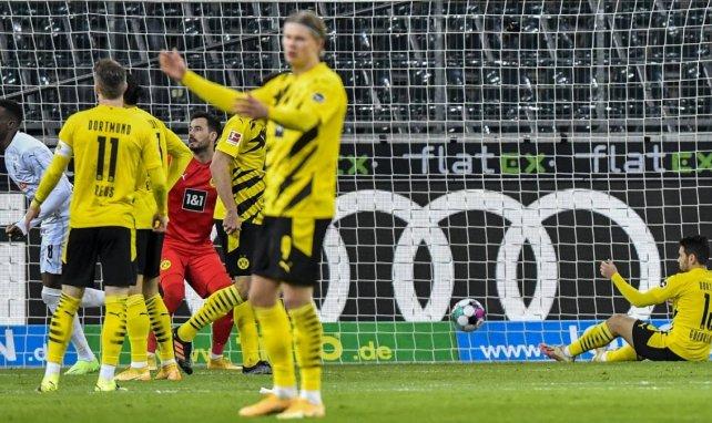 Bundesliga : Gladbach domine Dortmund malgré Haaland