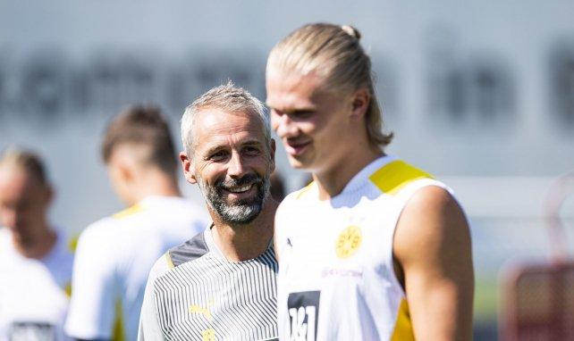 Le Borussia Dortmund ne lâchera pas Erling Haaland cet été