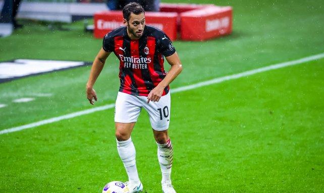 Hakan Calhanoglu avec l'AC Milan