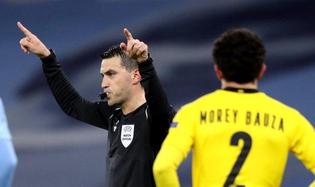 Ovidiu Hategan, l'arbitre du match City-BVB, au coeur de la polémique