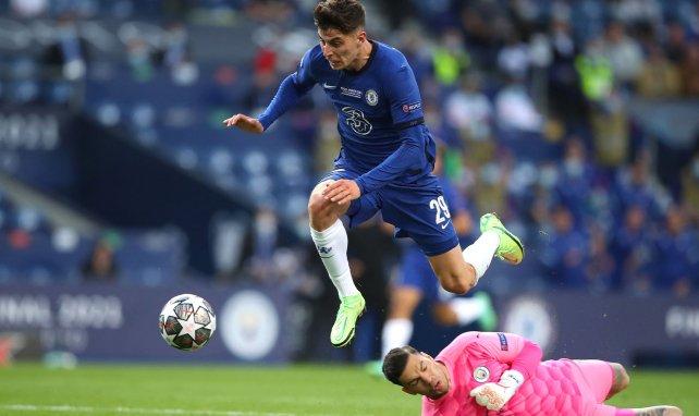 Kai Havertz buteur face à Manchester City.