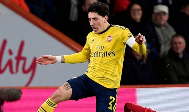 Hector Bellerin sous la tunique d'Arsenal