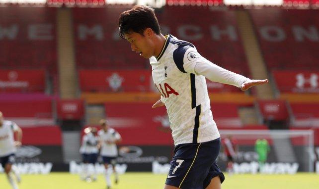 PL : Tottenham écrase Southampton avec un récital du duo Son-Kane