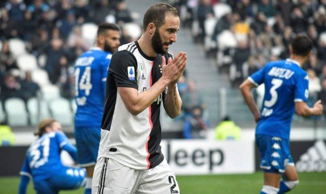 Juventus : Gonzalo Higuain pourrait rejoindre la MLS !