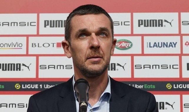 Nicolas Holveck, le président du Stade Rennais
