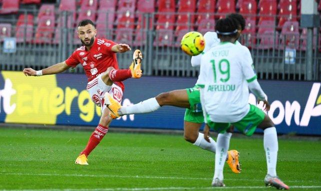 Franck Honorat face aux Verts