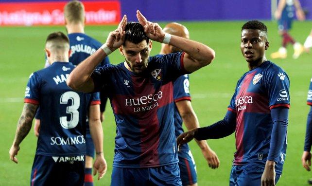 Rafael Mir réalise une belle saison avec Huesca