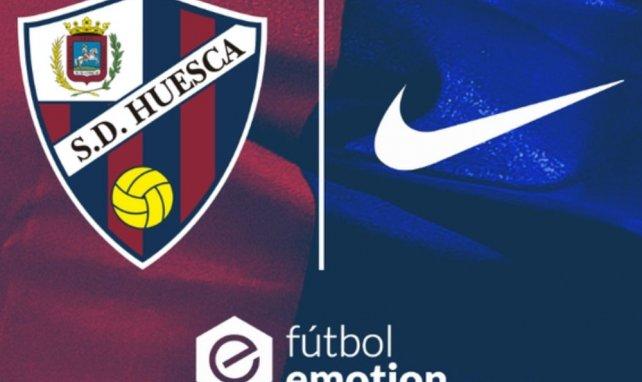 Huesca rejoint Nike !
