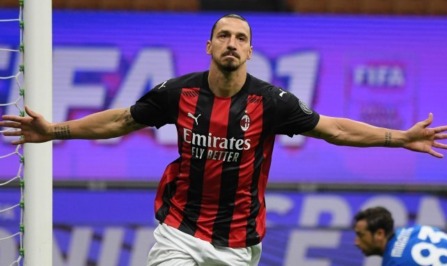 Zlatan Ibrahimovic est le fer de lance de l'AC Milan