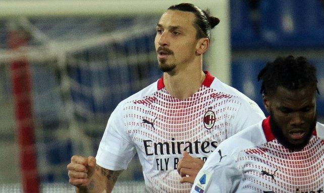 Serie A : l'AC Milan reprend la place de leader grâce à Ibrahimovic