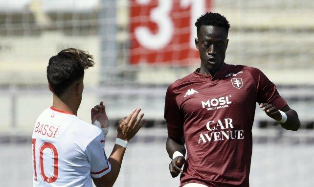 Ibrahima Niane victime d'une rupture des ligaments croisés d'un genou — Metz