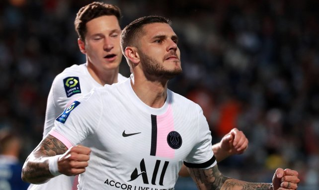 PSG : les terribles statistiques de Mauro Icardi