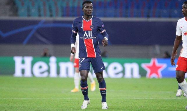Idrissa Gueye ici face au RB Leizpig