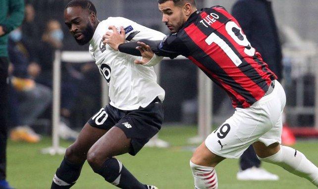 Jonathan Ikoné et le LOSC ont dompté l'AC Milan