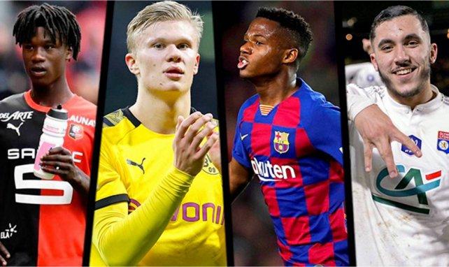 Camavinga, Haaland, Fati et Cherki nommés au Golden Boy