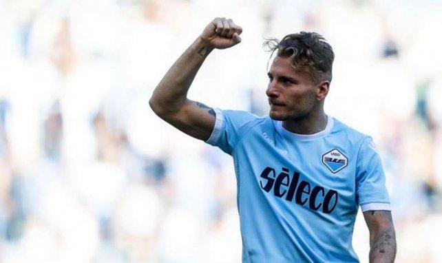 Ciro Immobile sous le maillot de la Lazio