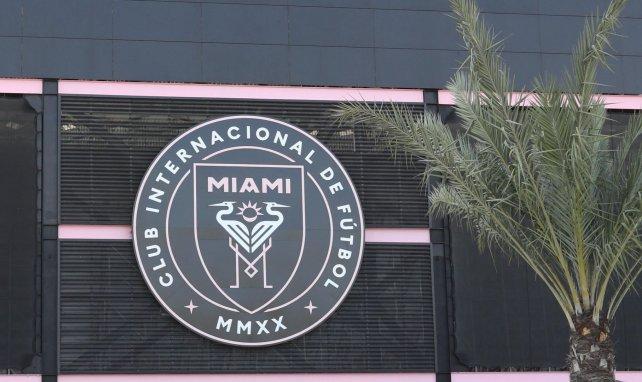 Le logo du club de l'Inter Miami