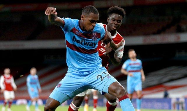Issa Diop sous le maillot de West Ham