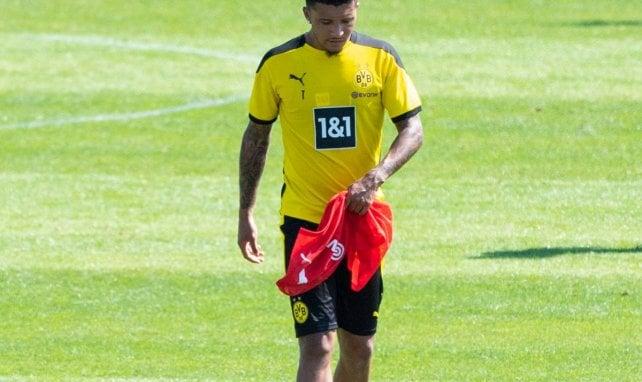 Borussia Dortmund : pourquoi Manchester United y croit toujours pour Jadon Sancho