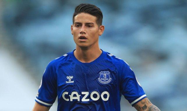 Everton : la réaction de Rafael Benitez au départ de James Rodriguez