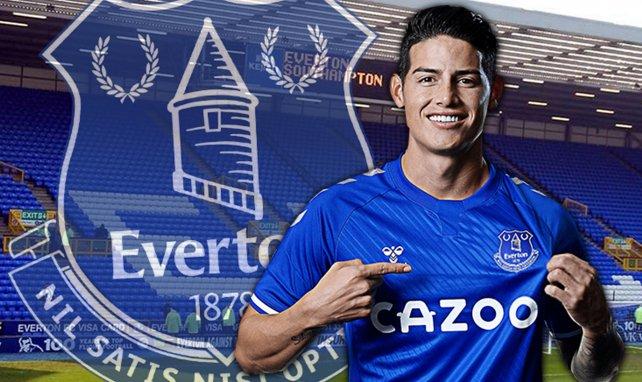 James Rodriguez a bien coûté 0 € à Everton !