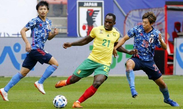 Le Camerounais Serge Tabekou résiste au Japonais Koki Anzai