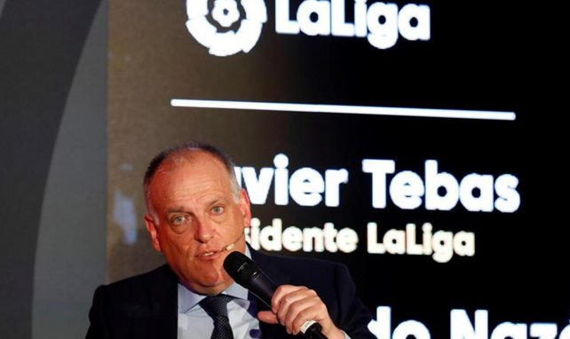 Super League : Javier Tebas cartonne Florentino Pérez