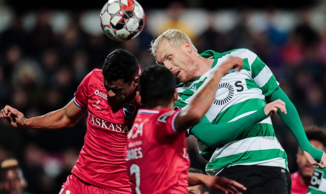 Jeremy Mathieu en action avec le Sporting CP