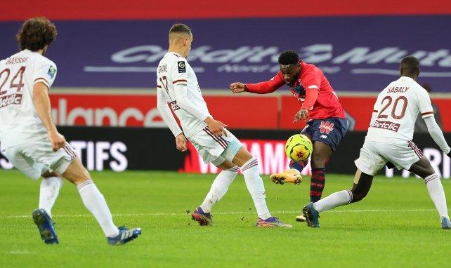 Jonathan Bamba buteur face aux Girondins de Bordeaux