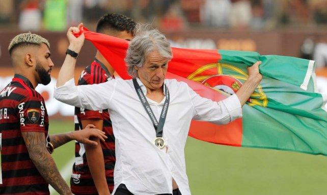 Jorge Jesus prolonge d'un an avec Flamengo