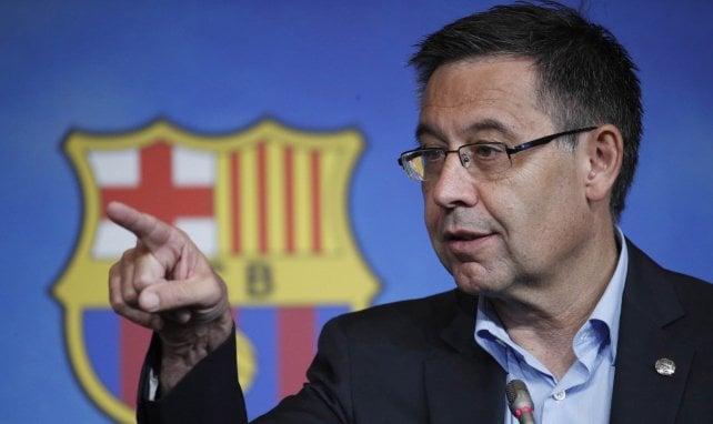 FC Barcelone : Josep Maria Bartomeu dézingue la VAR