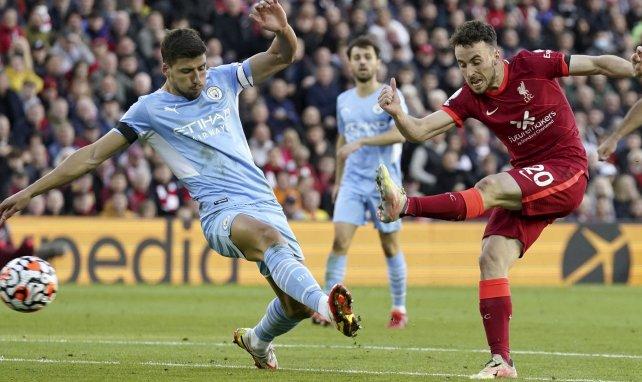 Diogo Jota et Liverpool s'imposent face à Manchester City