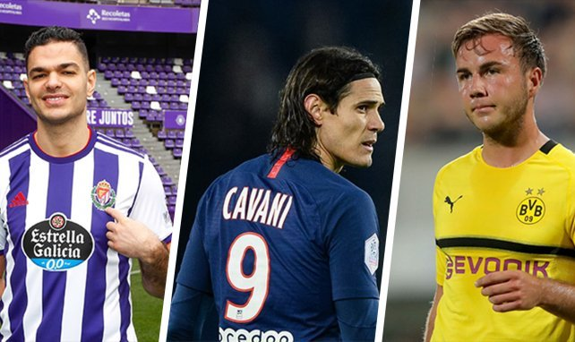 Mercato : l'équipe type des joueurs sans contrat