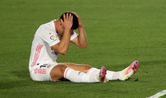 La déception de Luka Jovic contre le Real Valladolid