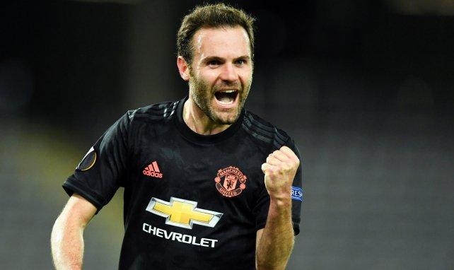 Juan Mata qui célèbre un but