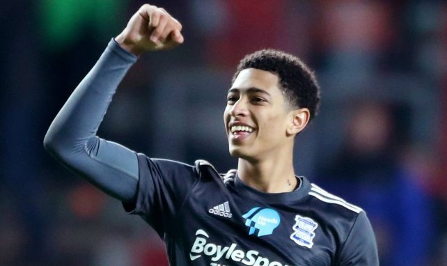 Jude Bellingham avec le maillot de Birmingham City