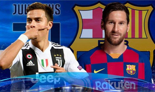 Les compositions de Juventus - FC Barcelone sont tombées