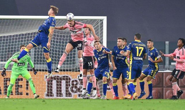 Serie A : la Juventus accrochée par le Hellas Vérone