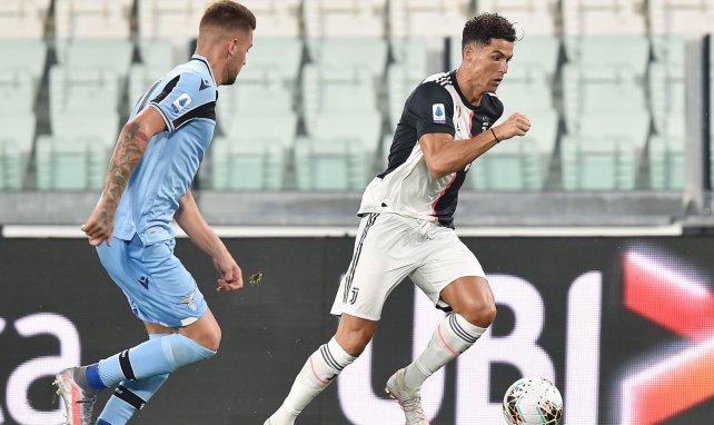 Cristiano Ronaldo ici en action sous la maillot de la Juventus