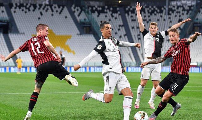 Ronaldo a manqué un penalty face à l'AC Milan