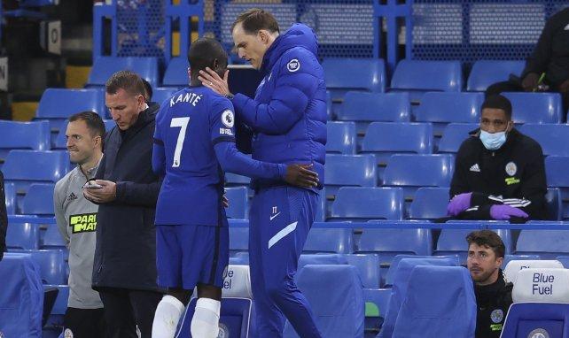 N'Golo Kanté est sorti prématurément du terrain face à Leicester.