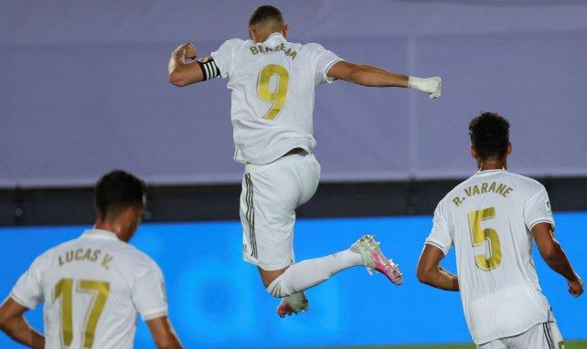 Karim Benzema cartonne avec le Real Madrid