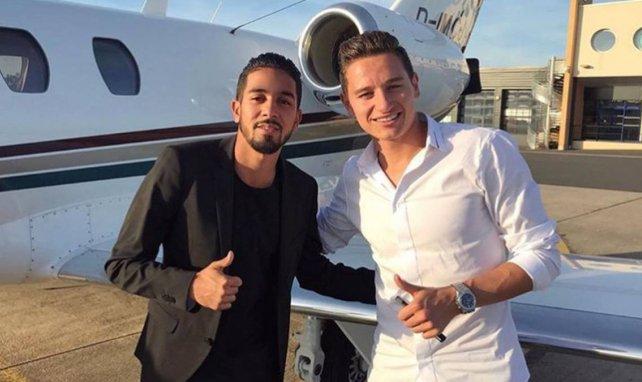 Karim Oussanaa, ici aux côtés de Florian Thauvin, se présente pour FM
