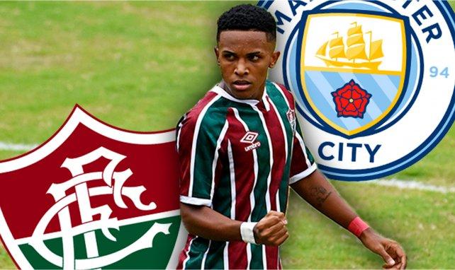 Kayky sous le maillot de Fluminense