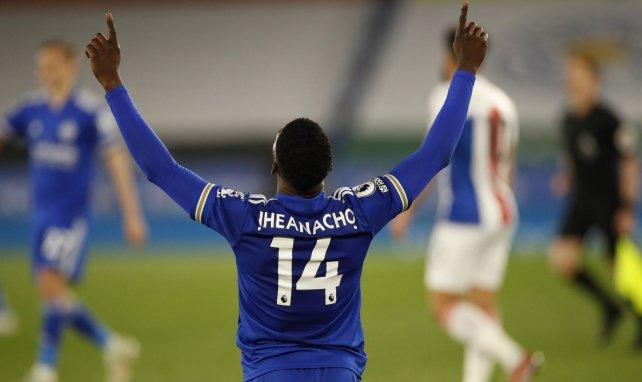 Kelechi Iheanacho avec Leicester